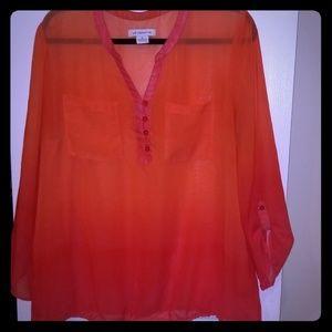 💥3/$15 Liz Claiborne blouse
